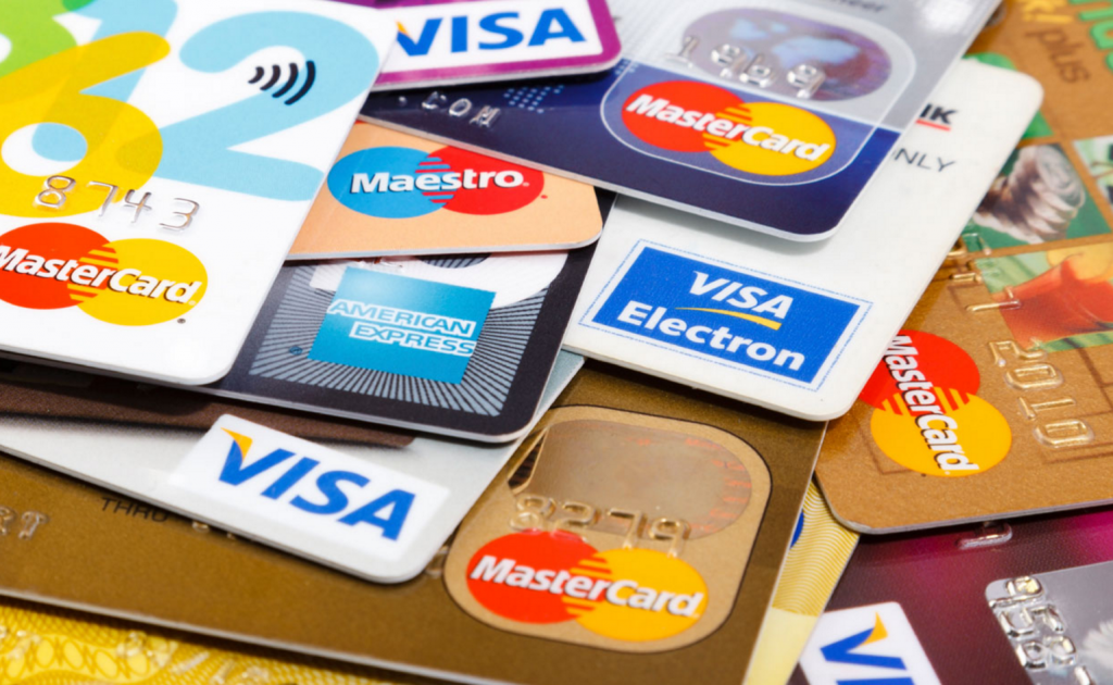 Image of debit and credit cards