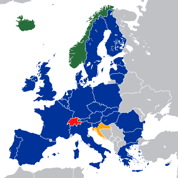 Image of European Economic Area members