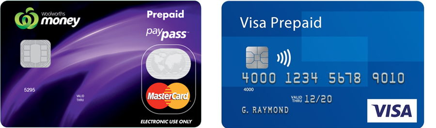 Image of Prepaid cards